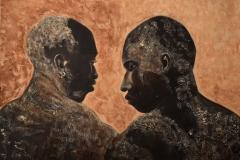 Lutteurs Sénégalais (format 92/73)