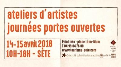 ateliers d'artistes journées portes ouvertes 14-15 avril 2018