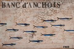 Planche Banc d'anchois (format 29/19)