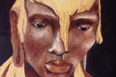 Portrait de statue - Hommage à OUSMANE SOW (format 81/65)